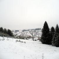 Шаркан с лыжной трассы, Шаркан