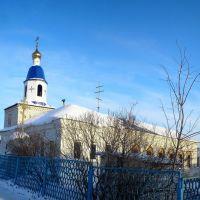 церковь, село Большое Нагаткино (church, the village of Great Nagatkino), Большое Нагаткино