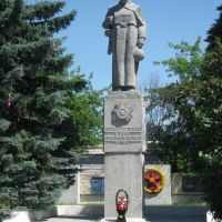 памятник солдатам, Вешкайма
