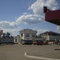 Площадь автовокзала Инзы, Инза