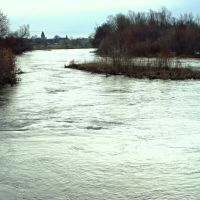 река сызранка весной., Канадей