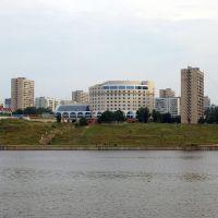 Вид на Комсомольский район города Тольятти / View of Komsomolsky district of Togliatti city (05/08/2007), Новая Малыкла