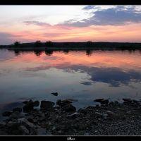 Устье реки Сок, приток реки Волга, Самара (Mouth of river SOK, inflow of the river Volga, Samara, the Russian Federation), Новая Малыкла