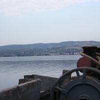 Вид на Хвалынск с парома, Старая Кулатка