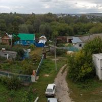 Тереньга. Вид с усадьбы Голицына, Тереньга