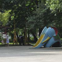 В парке Матросова. Слон, Ульяновск