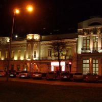 Улица Гончарова перед Центробанком, Ульяновск