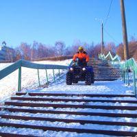 На лестнице, Ульяновск