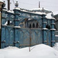 Резные ворота, Ульяновск