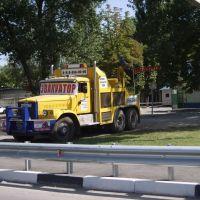 Грузовой эвакуатор (12 авг 2008)., Аксай