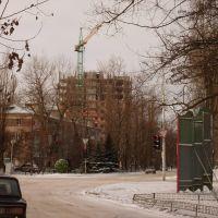 Стр-во новой многоэтажки в Аксае. 17/01/2010., Аксай