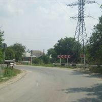 Поворот на ул. Луначарского. 31/07/2008., Аксай
