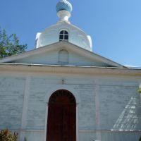 Деревянная церковь в Красном Деркуле. Сгорела., Деркул