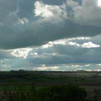 Небо над поймой речки Тузлов, Калмыково