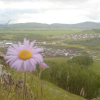 вид со Школьной горы, Уральск