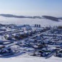 панорама со Школьной горы, Уральск