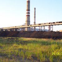 Угольный штабель, Амурск
