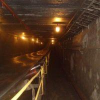 Подземная галерея ленточного конвейера №9, Амурск