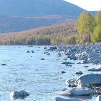 The river Tukchi, Биракан