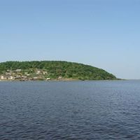 Вид на Ачан с протоки Сий** http://atldv.narod.ru, Болонь