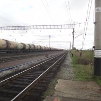 Станция Волочаевка-2, Вид на север, Волочаевка Вторая