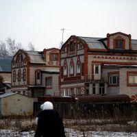 "Вид на ""сиротские домики"" п. Волочаевка-2, Волочаевка Вторая"