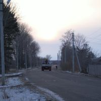 Улица Шелеста - вид в сторону кладбища - п. Волочаевка - 2, Волочаевка Вторая