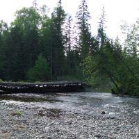 мост через Кему, Высокогорный
