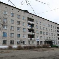Бывшее муниципальное общежитие, дом с административными помещениями на улице Ленина 4, Вяземский