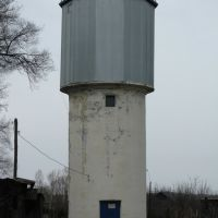 Водонапорная башня, улица Украинская, Вяземский