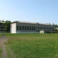 Средняя школа № 2. Стадион, Вяземский