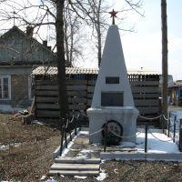 Памятник погибшим героям революции, Вяземский