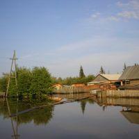 Нелькан - наводнение, Нелькан