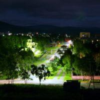 Июльская ночь в городе Николаевске-на-Амуре (Night - Nikolaevsk-on-Amur town), Николаевск-на-Амуре