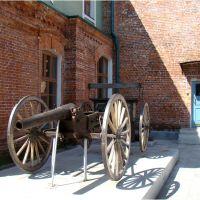 У входа в музей, Николаевск-на-Амуре