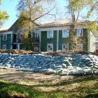 Дамба от наводнения, Николаевск-на-Амуре