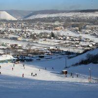 2007.01.03 Skiing slope, Облучье