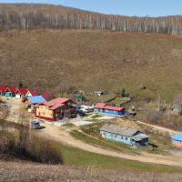 Obluchye (2012-10) - Newly built cottages at ski slope, Облучье