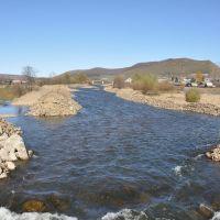 Obluchye (2012-10) - River Shingan, Облучье