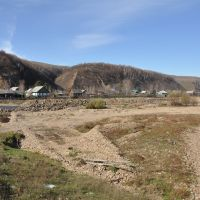 Obluchye (2012-10) - River bank area, Облучье