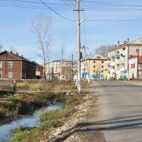 Obluchye (2012-10) - Different types of apartment blocks, Облучье