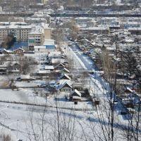 Obluchye (2013-02) - Town view fom hill, Облучье