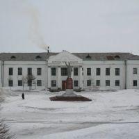 Охотск, Дом культуры им. Ильича, апрель 2011, Охотск