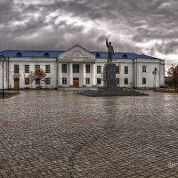 Новая площадь Охотска, Охотск