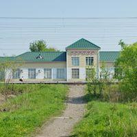 Тропинка к вокзалу в Переяславке, Переяславка