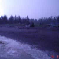 Тугурский залив, ночная гроза, Тугур