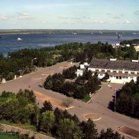 Amur River at Khabarovsk, Russian Far East, Хабаровск