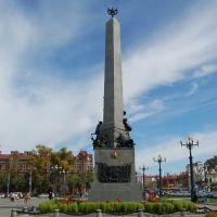 俄罗斯哈巴罗夫斯克--纪念碑, Хабаровск