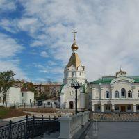 俄罗斯哈巴罗夫斯克--街景, Хабаровск