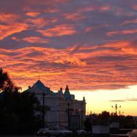 俄罗斯哈巴罗夫斯克--Sunset--晚霞, Хабаровск